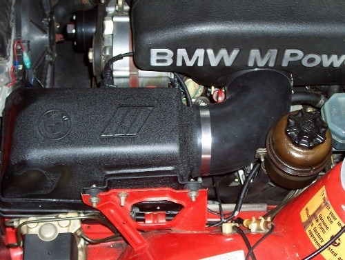 Rongineer airbox kit installed on an M3